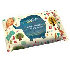 Marion – chusteczki nawilżane dla niemowląt z lanoliną (1 op.)