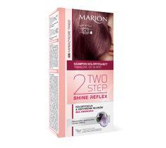 Marion Two Step Shine Reflex – szampon koloryzujący nr 406 Karmazynowe Tango  (1 op.)