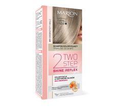 Marion Two Step Shine Reflex – szampon koloryzujący nr 411 Srebrzysty Walc  (1 op.)