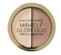 Max Factor Miracle Glow Duo Pro Illuminator rozświetlający korektor do twarzy 20 Medium 11g