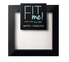 Maybelline – Fit Me Matte Poreless Pressed Powder puder matujący do twarzy w kompakcie 090 Translucent (9 g)