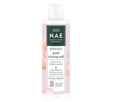 N.A.E Purezza Gentle Cleansing Milk delikatne mleczko oczyszczające do twarzy z organiczną wodą z róży damasceńskiej (200 ml)