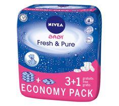 Nivea Baby Chusteczki Pure & Fresh 3+1 (4 x 63 szt.)