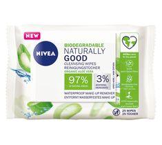 Nivea Naturally Good biodegradowalne chusteczki do demakijażu (1 op.)