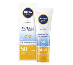 Nivea Sun UV Face Anti-Age & Anti-Pigments przeciwzmarszczkowy krem do twarzy SPF50 (50 ml)