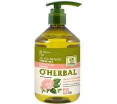 O'Herbal żel pod prysznic tonizujący róża damasceńska (500 ml)