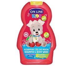 On Line Kids Szampon 2w1 Czereśnia 250 ml