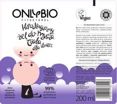 OnlyBio Fitosterol Żel do mycia ciała dla dzieci hipoalergiczny w tubce (200 ml)