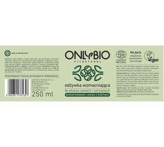OnlyBio Fitosterol Odżywka wzmacniająca do włosów cienkich i normalnych (250 ml)
