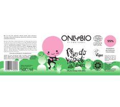 OnlyBio Fitosterol Płyn do kąpieli dla dzieci od pierwszego dnia do trzeciego roku życia (500 ml)