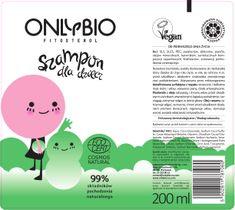 OnlyBio Fitosterol Szampon dla dzieci od pierwszego dnia życia w tubce (200 ml)