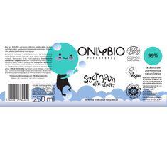 OnlyBio Fitosterol Szampon dla dzieci powyżej trzeciego roku życia w butelce (250 ml)