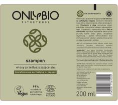 OnlyBio Fitosterol Szampon do włosów przetłuszczających się z olejem ze słonecznika (200 ml)