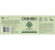 OnlyBio Fitosterol Szampon do włosów przetłuszczających się z olejem ze słonecznika (250 ml)