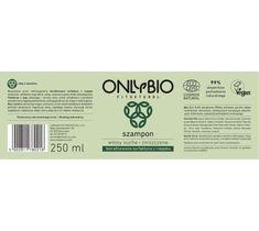 OnlyBio Fitosterol Szampon do włosów suchych i zniszczonych z olejem z sezamu (250 ml)
