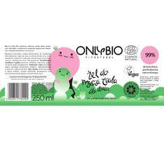 OnlyBio Fitosterol Żel do mycia ciała dla dzieci od pierwszego dnia do trzeciego roku życia w butelce (250 ml)