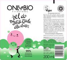 OnlyBio Fitosterol Żel do mycia ciała dla dzieci od pierwszego dnia do trzeciego roku życia w tubce (200 ml)