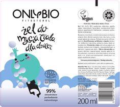 OnlyBio Fitosterol Żel do mycia ciała dla dzieci powyżej trzeciego roku życia (200 ml)