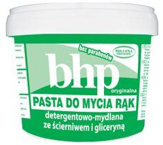 Pollena BHP pasta do mycia rąk detergentowa-mydlana ze ścierniwem i gliceryną 500 ml