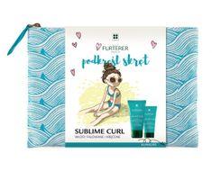 Rene Furterer Sublime Curl zestaw szampon aktywator loków 50ml + balsam aktywator loków 30ml + kosmetyczka
