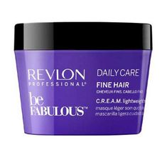 Revlon Professional Be Fabulous Dail Care Fine Hair Lightweight Mask lekka maska do włosów cienkich 200ml