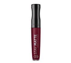 Rimmel Stay Matte Liquid Lip Colour matowa szminka w płynie 810 Plum This Show 5,5ml