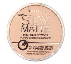 Rimmel Stay Matte puder prasowany do twarzy nr 004 14 g