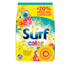 Surf Color Fruity Fiesta & Summer Flowers proszek do prania do koloru 1,3kg