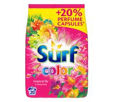 Surf Color Tropical Lily & Ylang Ylang proszek do prania do koloru 1,3kg