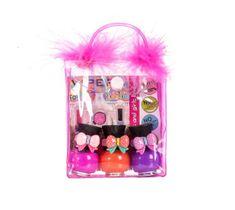 Tutu Peel-Off zestaw prezentowy lakierów do paznokci w kosmetyczce 16 3 x 5 ml