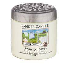 Yankee Candle Fragrance Spheres kuleczki zapachowe Clean Cotton 170g