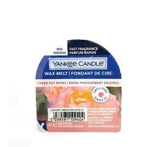 Yankee Candle – Wax Melt wosk zapachowy Fresh Cut Roses (22 g)