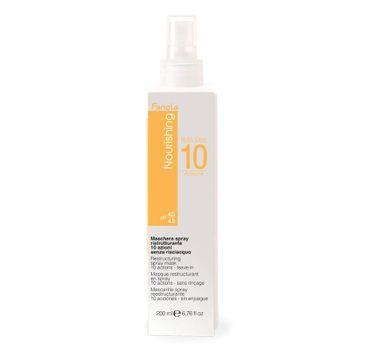 Fanola – Nourishing Restructuring Spray Mask odbudowująca maska w sprayu do włosów suchych i łamliwych (200 ml)