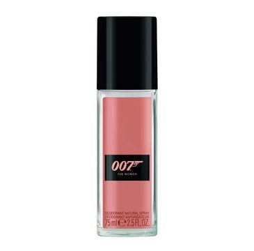 007 for Women dezodorant w sprayu delikatny zapach 75 ml