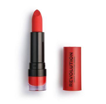 Makeup Revolution Matte Lipstick – pomadka do ust Ruby 134 (1 szt.)
