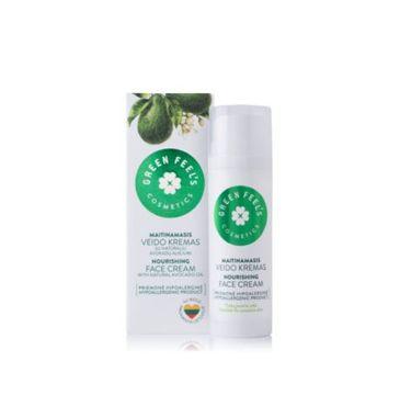 Green Feel's – Nourishing Face Cream odżywczy krem do twarzy z awokado (50 ml)
