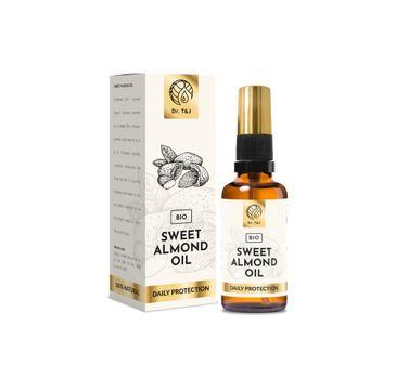 Dr. T&J Sweet Almond Oil naturalny olej ze słodkich migdałów BIO (50 ml)