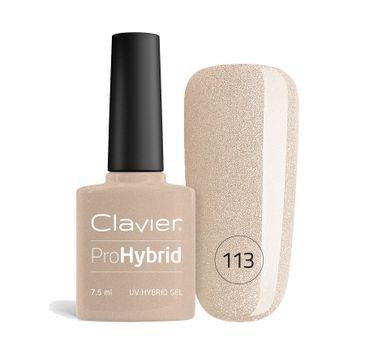 Clavier – ProHybrid lakier hybrydowy do paznokci 113 (7.5 ml)