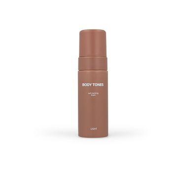 Body Tones – Self-Tanning Foam samoopalająca pianka do ciała Light (160 ml)