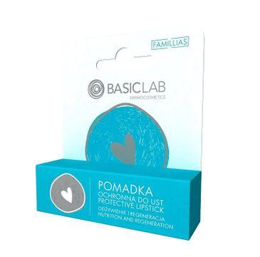 Basic Lab – Famillias pomadka ochronna do ust odżywienie i regeneracja (4 g)