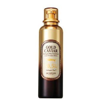 Skinfood – Gold Caviar Collagen Plus Emulsion przeciwzmarszczkowo-nawilżająca emulsja do twarzy (120 ml)