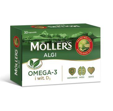 Möller's – Algi suplement diety (30 kapsułek)