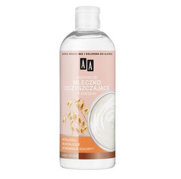 AA Skin Food – odżywcze mleczko oczyszczające z owsem do każdego typu cery (400 ml)