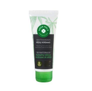 Green Feel's – Nourishing Food Cream krem do stóp olej konopi i mocznik (75 ml)