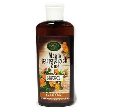 Delicate Organic Magia Karpackich Ziół szampon do włosów suchych 250g