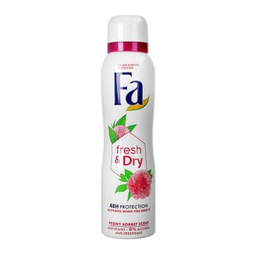 Fa Fresh & Dry 48h - dezodorant spray Peony Sorbet (150 ml)