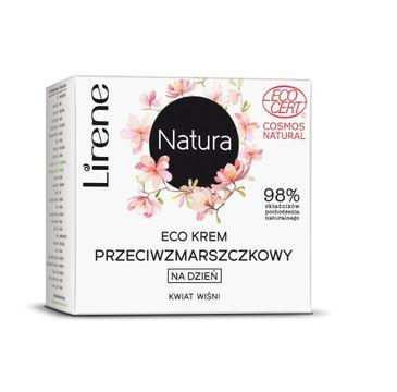 Lirene Natura Eco – krem przeciwzmarszczkowy na dzień Kwiat Wiśni (50 ml)