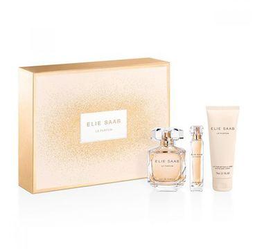 Elie Saab – Le Parfum zestaw woda perfumowana spray 90ml + miniatura wody perfumowanej 10ml + balsam do ciała 75ml (1 szt.)