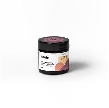 Melo – Rozświetlający peeling enzymatyczny do twarzy z Kwasami Owocowymi (20 g)