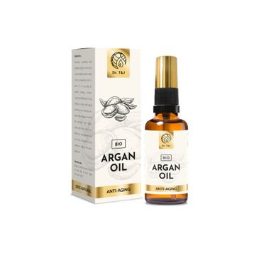 Dr. T&J Argan Oil naturalny olej arganowy BIO (50 ml)